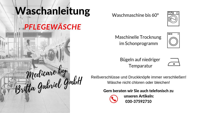 Waschanleitung - Anti-Rutschsocken Suprima 4820